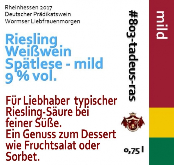 Riesling - Unser Drops